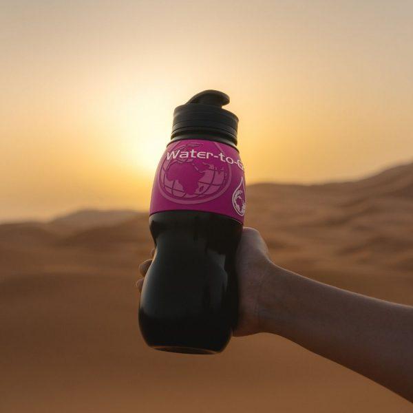 Pink 75cl Bottle New Lid
