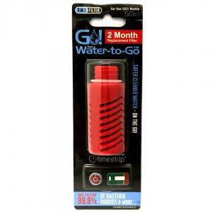 Water-to-Go-Ersatzfilter für den GO! Wasserflasche In Rot
